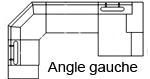 Canapé d'angle design kubo-angle-gauche 1+C+3+Chaise